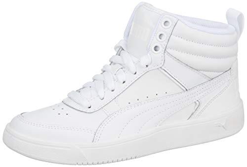 Puma Unisex-Erwachsene Rebound Street V2 L Hohe Sneaker, Weiß (Puma White-Puma White 2), 43 EU (Weiß Herren Stiefel)