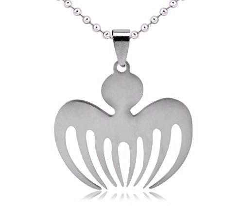 Import Von Mode-accessoires (Halskette Kette Halsanhänger Halsschmuck Edelstahl Spectre James Bond 007 Prop Mode Silber Neuheit Design Schmuck)