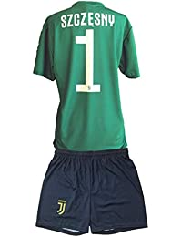 b0403b3075 Completo Juventus Wojciech Szczesny 1 Replica Autorizzata 2018-2019 Bambino  (Taglie-Anni 2