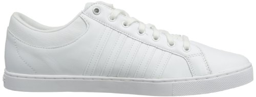 K-Swiss Adcourt '72 So M, Low-Top Sneakers homme blanc (White/Silver)