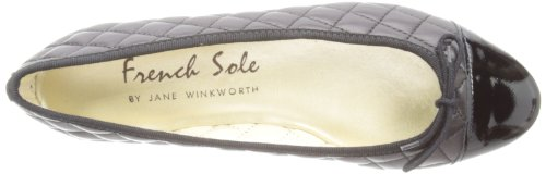 French Sole - Ballerine, Donna Nero