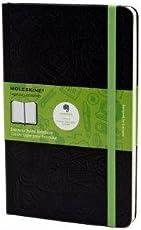 Moleskine Evernote Smart Notebook, Large, Ruled, Black, Hard Cover (5 x 8.25) (Evernote Smart Notebooks)