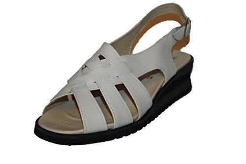 Romika , Sandales pour femme Blanc - Weiß (Offwhite)