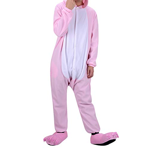 as Kostüm Jumpsuit Tier Schlafanzug Karneval Halloween kostüm mädchen Junge Kinder Unisex ()