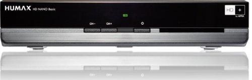 Humax HD Nano Basic HDTV Satelliten-Receiver (HD+, USB, HDMI, Dolby Digital) inkl. HD+ Karte für 1 Jahr