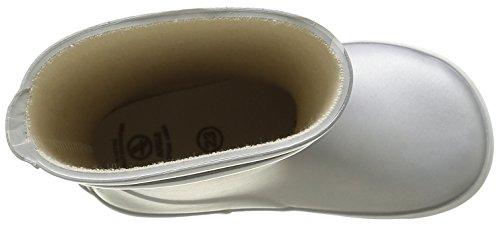 Aigle Baby Flac, Chaussures Premiers Pas Mixte Bébé Argent (Silver)
