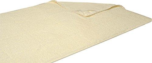 Matratzenauflage Lammflor ca. 90x200 cm mit 4x Spanngummi #326