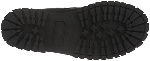 Bianco Damen Warme Military Boots 33-48450 Combat Schwarz (BLACK/10)
