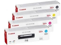 Canon i-sensys 718 bulk Cyan/Magenta/Jaune/Noir-Cartouche toner pour imprimante laser - 2660B002 2662B005 2659B002//// 2661B002 pour LBP7200Cdn MFC8330/LBP8350CDN bulk Pack-Brun