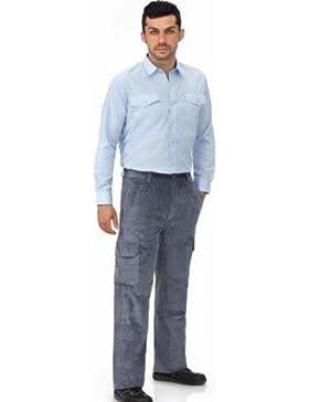Vesin Pana-Gr-60 - Pantalon pana multibolsillos l5000