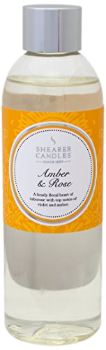 Shearer-Candles-200-ml-Amber-and-Rose-Scented-Reed-Diffuser-Refill