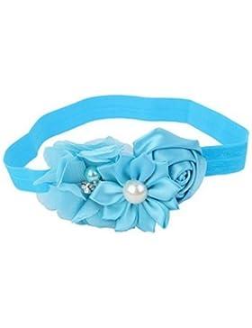 Danapp - Cazadora para el pelo con diseño de rosas azul azul 1
