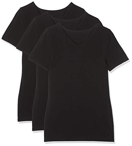 Maglev Essentials Bdx010m3 Camisetas Negro (Black) 40 (Talla del Fabricante: Medium), Pack de 3