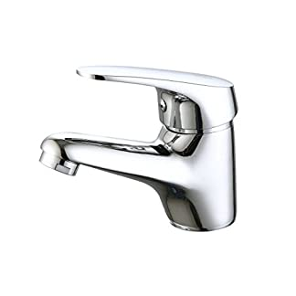 31e7lFQbhOL. SS324  - DP Grifería GSP001 Grifo de lavabo serie Limonero, Plateado