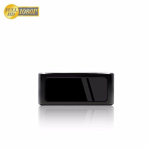 Mobile Software Spy (Wi-Fi Camera mobile Mini-WLAN-Kamera Nachtsicht / Full-HD Mini-IP-Netzwerk-Kamera MicroSD-Speicher bis 256 GB / Zugriff per Smartphone und Tablet / Wi-Fi Überwachungskamera mit Bewegungserkennung)