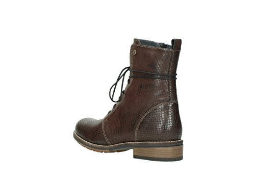 Wolky 4432 Murray, Stivali donna 30430 cognac leather