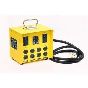 Draht, 30 Amp (CEP Konstruktion Elektrische Produkte 6503GU 30-amp Mini Portable Power Center)