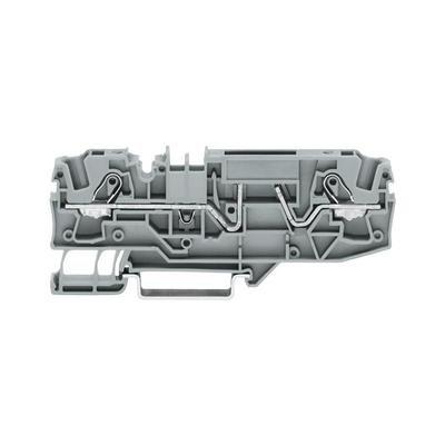 2 conductor fuse clip series 2002 0.25 - 2.5 mm² 2002-1681 Grey WAGO 1 Units