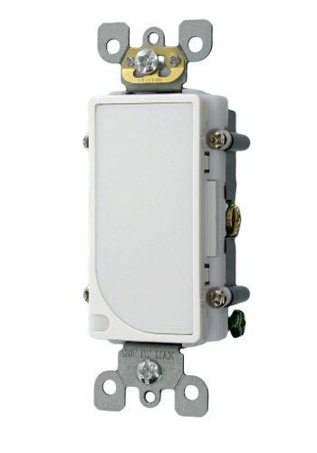 Leviton 6527-W 120V AC Decora LED Full Guide Light, White by Leviton (Led Decora)