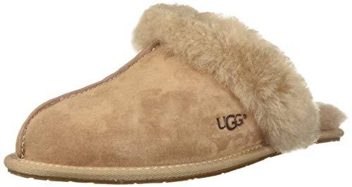 UGG Damenschuhe Hausschuhe Scuffette II 5661 - Fawn, Größe:37 EU  - Frauen Uggs Einlegesohlen