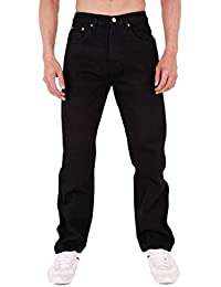 Mens Aztec Heavy Duty Basic Straight Leg Regular FIT Jeans