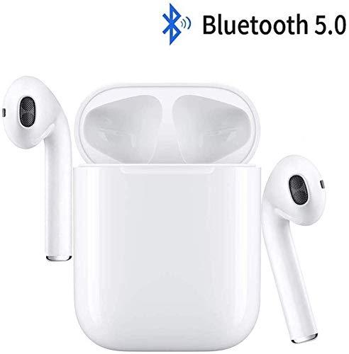 Cuffia Bluetooth 5.0, 3D Stereo Cuffie Auricolare Senza Fili con HD Mic,Tocco Auricolare Bluetooth...