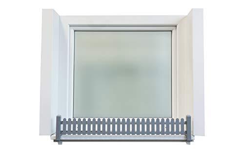 Green Creations Blumenkastenhalterung Masu Basis Set Für Fensterbänke Aller Art Von 78 Cm Bis 140 Cm Ohne Bohren Ohne Beschädigung Der Fassade