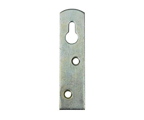 100 Stück Variante 3, 8 cm Schrankaufhänger Schrankaufhängung Möbelaufhänger Bettbeschlag