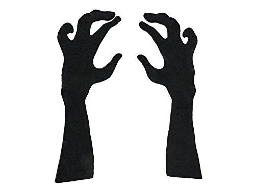 EUROPALMS Silhouette Arme, 40cm (Arm-silhouette)