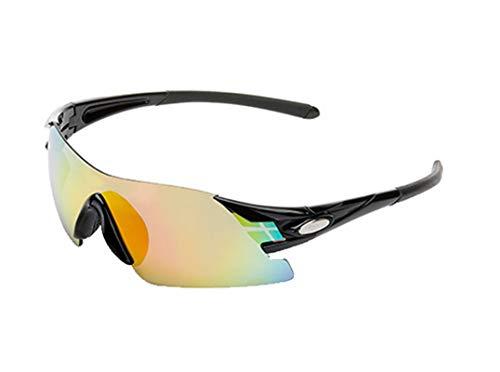 Radbrille Polarisiert Radfahren Outdoor Brille Hd Myopie Sonnenbrille Randlose Brille Black Damen Herren