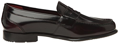 Rockport Classic Loafer Penny, Mocassini uomo Nero (Noir (Bordeaux))
