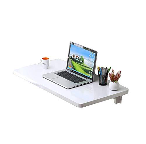 YHDD Weißer Umweltschutz-Computertisch, vielseitig einsetzbarer Wand-Klapptisch, viele Verschiedene Ausführungen erhältlich (größe : 70x40cm)