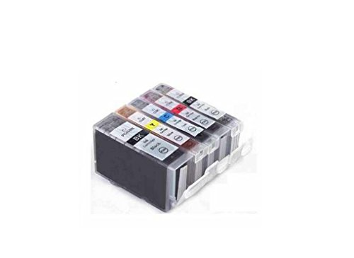 c63r-cli8-pgi5-with-chip-multipack-full-set-of-5-canon-compatible-printer-ink-cartridges-for-canon-p