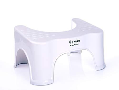 HOCA medizinischer Toilettenhocker gegen Hämorrhoiden, Verstopfung, Reizdarm, Blähungen,...