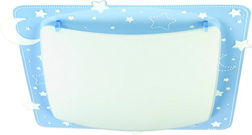 dalber-43236t-techo-pared-lampara-luna-y-estrellas-metal-azul-415-x-41-x-75-cm