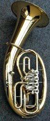 B & S 3046L en B barítono–oro latón lacado