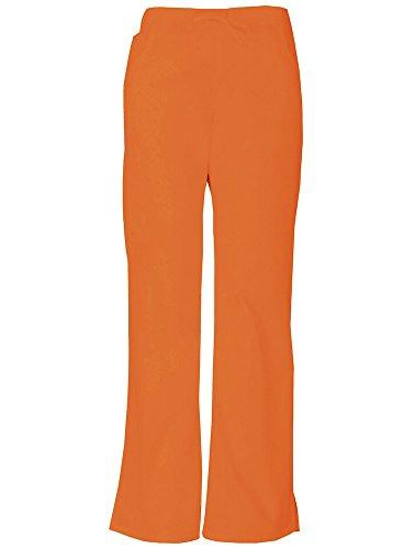 Everyday Scrubs Signature von Frauen Mid Rise Kordelzug Cargo-Hose X-Small Tall K¨¹rbis - Orange Scrub Hose