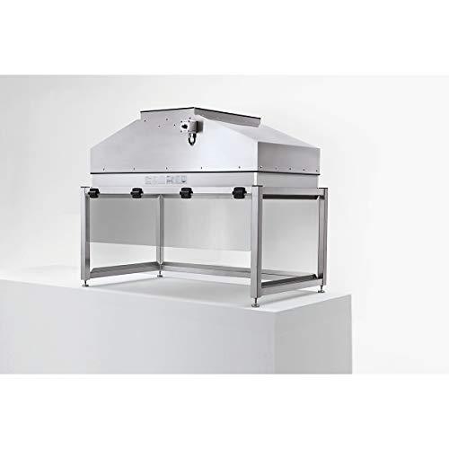 Laminar flow Tischaufsatz-Modul aus Edelstahl - Höhe 994 mm - BxT 1258 x 698 mm - Arbeitstisch Reinraum Reinraumausstattung Reinraumtisch Tischaufsatz Tischaufsätze