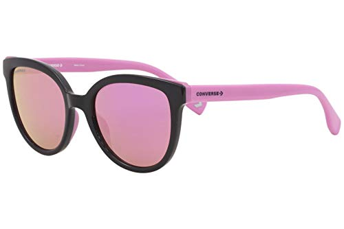 Converse All Star SCO046 Sunglasses Navy w/Pink Mirror Lens 53mm 7ANR SCO046Q SCO 046Q SCO 046