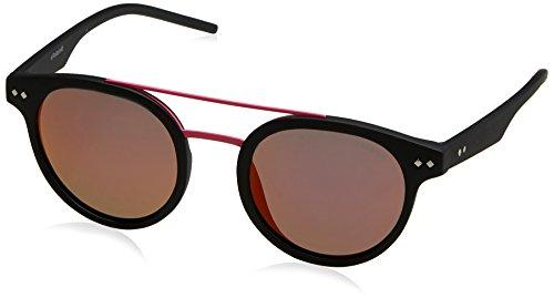 Polaroid Unisex-Erwachsene PLD 6031/S AI 003 Sonnenbrille, Schwarz (Matt Black Pink Grey Speckled Pz), 49