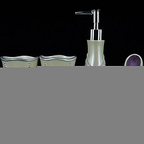 SBWYLT-Matrimonio bagno WC WC fornisce cinque suite pezzo spazzola tazza