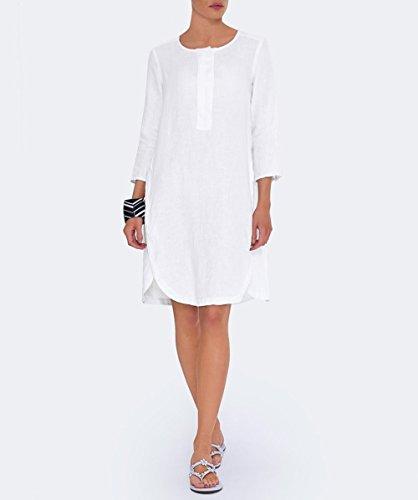 Backstage Femmes robe tunique Calla Blanc Blanc