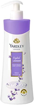Yardley English Lavender Body Lotion For Moisturizing, natural floral extracts, Luxurious creamy range, for fa