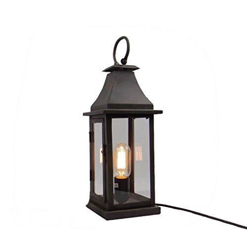SKC LIGHTING Retro Nostalgia Industrial Wandleuchte American Rural Dekorative Beleuchtung Schlafzimmer Wohnzimmer Schmiedeeisen Lampe Couchtisch