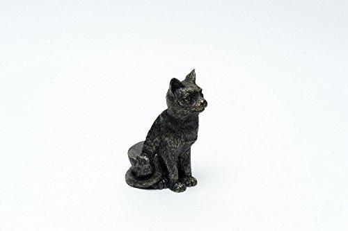 Potty Feet Blumentopffüße - Sitzende Katze - 3 Stück -