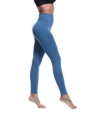 SYPNB Pantalones de Yoga de Las Mujeres de Secado rápido Estiramiento