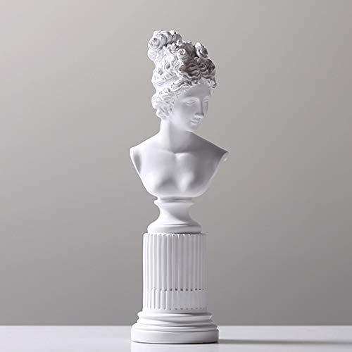DONGLU Venus griechische Göttin der Liebe und schöne Statue Engel wie die Jungfrau Skulptur (Farbe : 8)