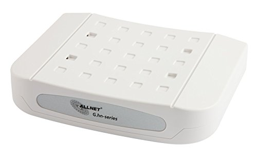 ALLNET all-ghn101-2Wire 1000Mbit/s weiß Konverter Support-Netzwerk-Wandler Support-Netzwerk (1000Mbit/s, IEEE 802.3ab, IEEE 802.3AZ, IEEE 802.3u, 100,1000Mbit/s, kabelgebunden, 300m, Aktivität, Verbindung)
