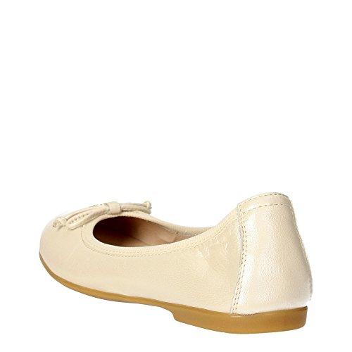 Florens Z7014 Ballerines Fille Blanc crème