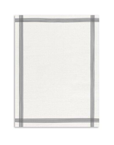 Reinleinen Geschirrtuch,Gläsertuch, KRACHT, 60x80cm (anthrazit) (Geschirrtücher 100 Leinen)
